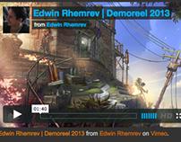 Demoreel 2013   Visual development