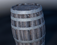 Wood Box/Barrel