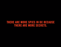 Real Spies. Real Stories. After Effects animation
