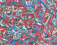 Hand-Drawn Pattern