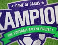 Kampion - The Football Talent Project Branding