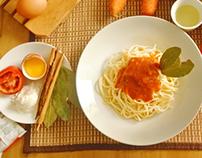 | Food Photoshot: Spaghetti |