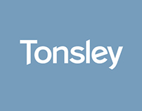 Tonsley custom typeface