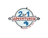 2 for 1 Adventures Logo