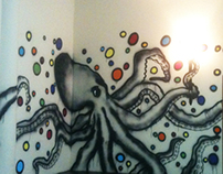 Spray Paint Wall Art