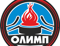 "Эмблема хоккейной команды ""Олимп"""