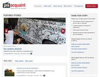 PreAquaint.com Redesign