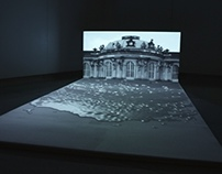 2 channel video installation, 2012