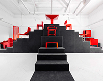 Rojo; Spanish Design on Stage; Stage by ARQUITECTURA-G