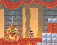 Mario Bros 3 Fresco