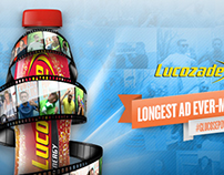 Lucozade Longest Ad  on Facebook