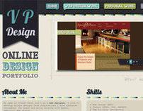 VP Design - Portfolio Redesign