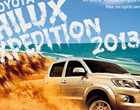 Hilux Expedition - Trilha
