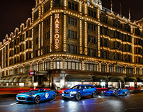 Jaguar at Harrods