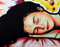Mural - 1st High School of Chios - 2013