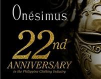 Onesimus Masquerade Anniversary