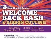 Art Center Event Postcard