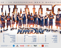 2012 Pepperdine Sports Posters
