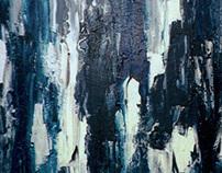 « Ombres et lumières »  Acrylic Painting