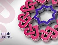 SunnahMuslim - 3D logo