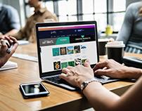 Free Mac Pro using, Office work, Job PSD Template