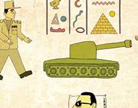 Illustration for Sabitfikir: Hieroglyphics and the Coup