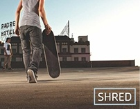 SHRED — Coffee Table Book & Website