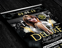 FREE Deluxe Night | Flyer Template