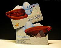 (e)AQUA business card