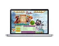 "Website for webgame ""Cửu Thiên"""