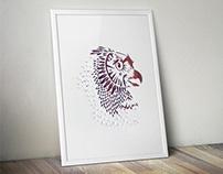 The Owl - Papercut