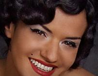 Brunette Marilyn.
