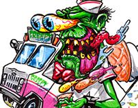 Creepy Ice Cream Rider