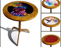 Interchangeable Table Top Table