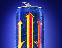 Mega Energy drink's can