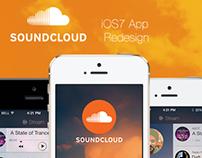 Soundcloud app iOS7 redesign