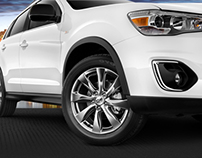 2013 Outlander Sport Limited Edition Campaign