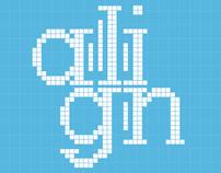 Align Typeface