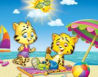 Jaguar Kids. Aplicaciones para productos