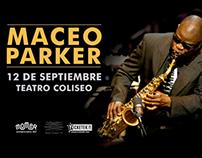 Maceo Parker - Teatro Coliseo | Diseño+Foto