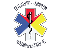 FDNY-EMS Hazmat T-shirt