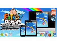 HTML5 Game: FatBoy Dream