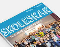 Magazine and other prints for Dansk Skoleskak
