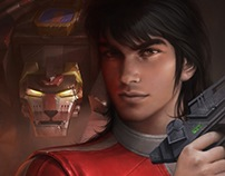 Voltron: Defender of the Universe, Commander Keith