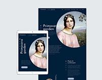 Primavera Garden Web page