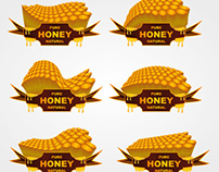 honey vector art
