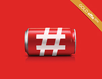 Coca-Cola's Drinkable Hashtag (Social Media Campaign)