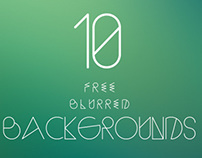 10 Free Blurred High Quality Backgrounds