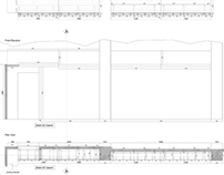 Works /2012-2013/-08: Harrods Burberry Wall Unit