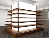 Works /2012-2013/-10: Harrods Wine Shop Furniture
